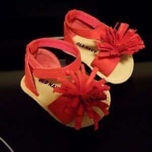 Infant girl sandals